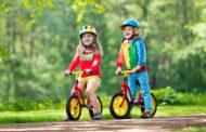 Kako otroka naučiti kolesariti?